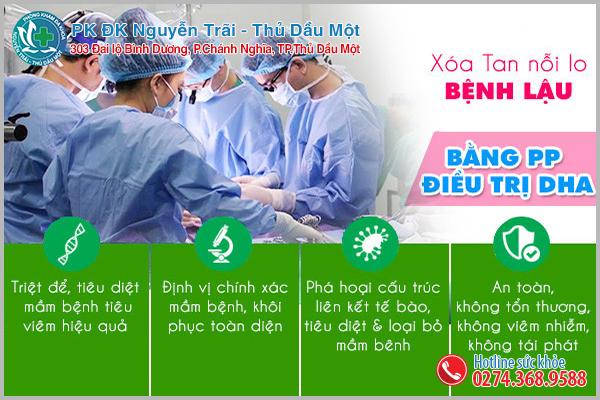 Phương pháp hỗ trợ trị bệnh lậu tiên tiến tại Đa Khoa Nguyễn Trãi - Thủ Dầu Một