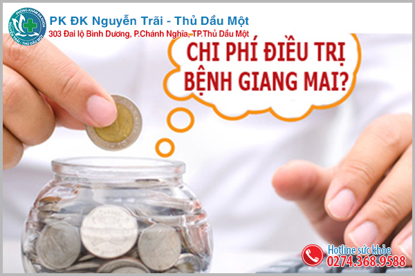 Chi phí chữa giang mai phụ thuộc vào phương pháp hỗ trợ điều trị