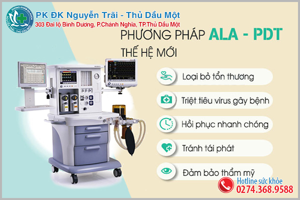 phương pháp ALA – PDT