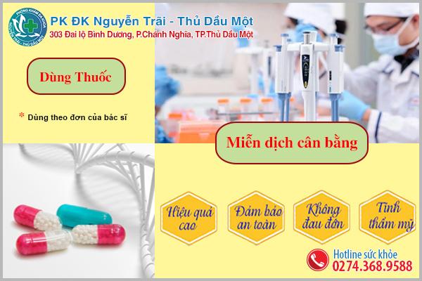 Phương pháp hỗ trợ điều trị giang mai tại Đa Khoa Nguyễn Trãi - Thủ Dầu Một