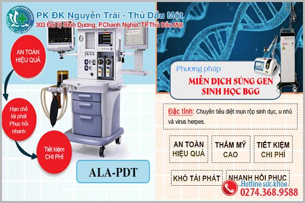 Phương pháp hỗ trợ điều trị hiệu quả tại Đa Khoa Nguyễn Trãi - Thủ Dầu Một
