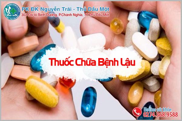 Dùng thuốc để hỗ trợ điều trị bệnh lậu
