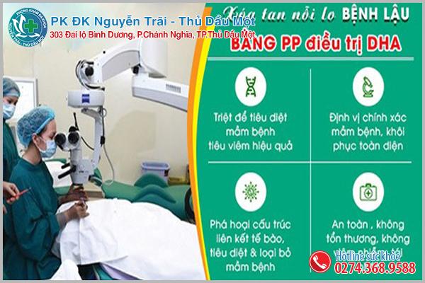 Điều trị lậu hiệu quả với ỹ thuật DHA tại Đa Khoa Nguyễn Trãi - Thủ Dầu Một
